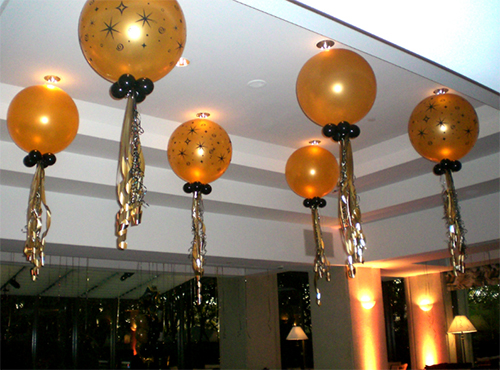 Balloon Ceiling Decoration